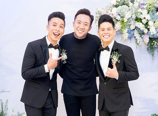 Trấn Thành dự tiệc cưới đồng giới của John Huy Trần - hình ảnh 3