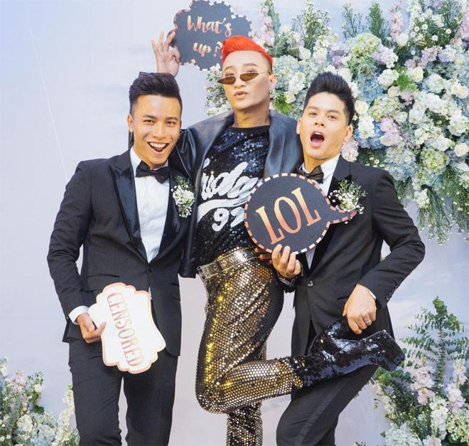 Trấn Thành dự tiệc cưới đồng giới của John Huy Trần - hình ảnh 5