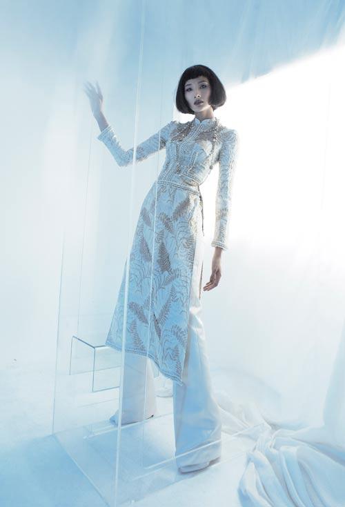 NTK Công Trí hồi sinh Coco Chanel qua… áo dài - hình ảnh 4