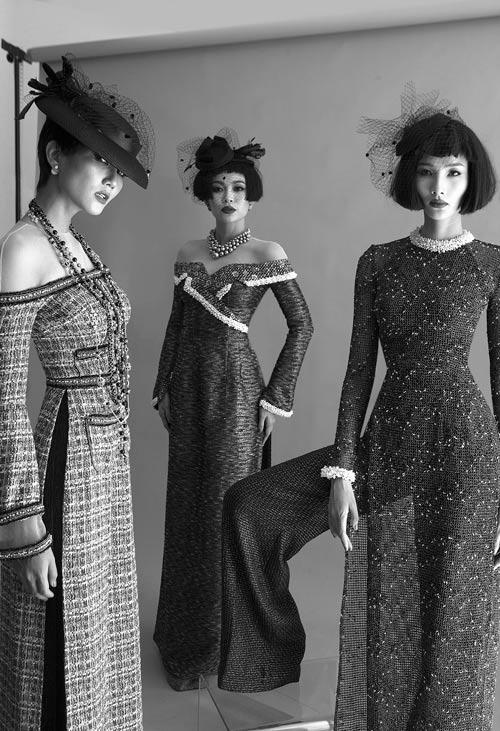 NTK Công Trí hồi sinh Coco Chanel qua… áo dài - hình ảnh 6