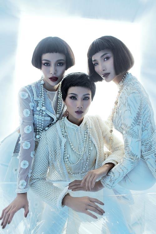 NTK Công Trí hồi sinh Coco Chanel qua… áo dài - hình ảnh 2