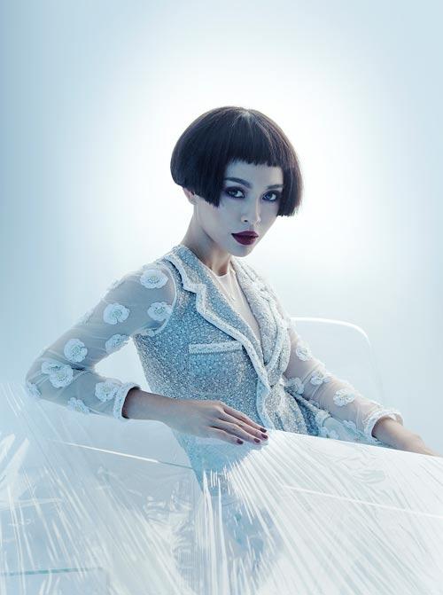 NTK Công Trí hồi sinh Coco Chanel qua... áo dài - 1