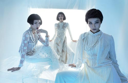 NTK Công Trí hồi sinh Coco Chanel qua… áo dài - hình ảnh 3