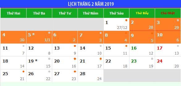 Đề xuất Tết Nguyên đán 2019 được nghỉ 9 ngày liên tục - hình ảnh 1
