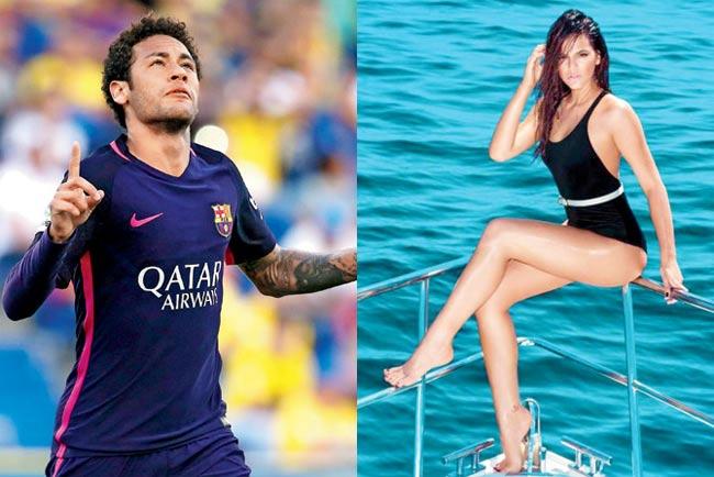 Đây là cô người mẫu khiến Neymar 5 lần, 7 lượt cũng không thoát nổi lưới tình - hình ảnh 7