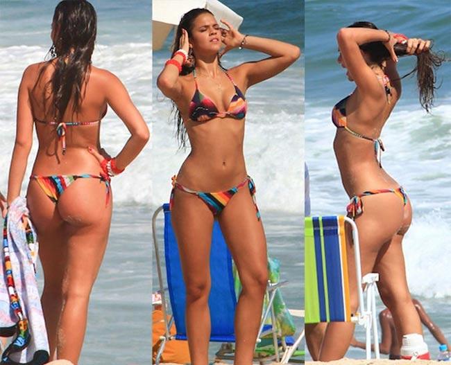Đây là cô người mẫu khiến Neymar 5 lần, 7 lượt cũng không thoát nổi lưới tình - hình ảnh 14