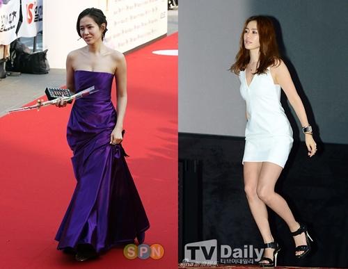 """12 bộ váy gợi cảm nhất của """"chị đẹp"""" Son Ye Jin - hình ảnh 13"""