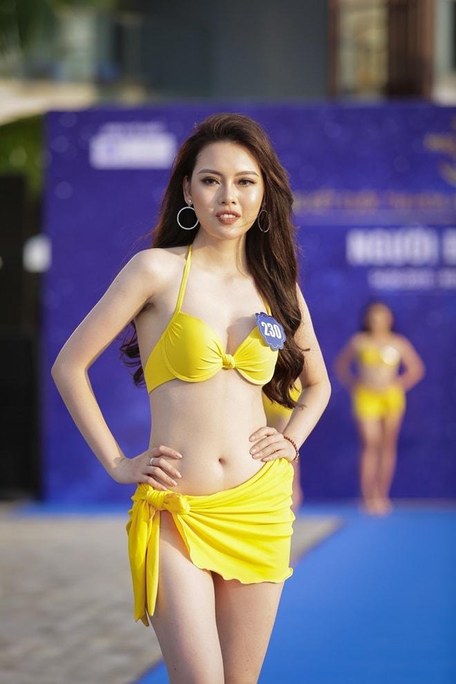 """Tình cũ 3 năm của Lê Hiếu khoe đường cong trong phần thi """"Người đẹp bikini"""" - hình ảnh 2"""