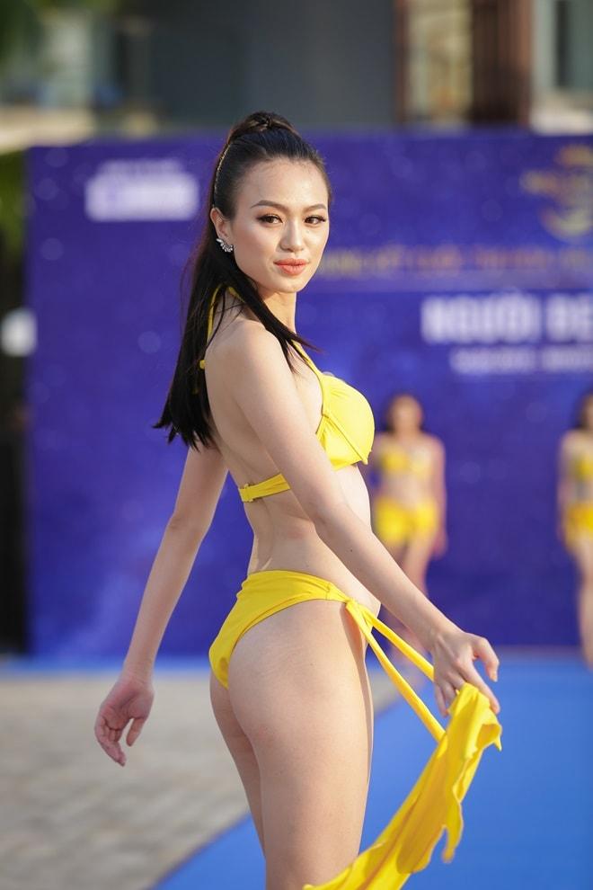 """Tình cũ 3 năm của Lê Hiếu khoe đường cong trong phần thi """"Người đẹp bikini"""" - hình ảnh 7"""