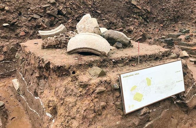 """""""Kho báu"""" hơn 700 tuổi dưới Hoàng Thành – Thăng Long - hình ảnh 3"""