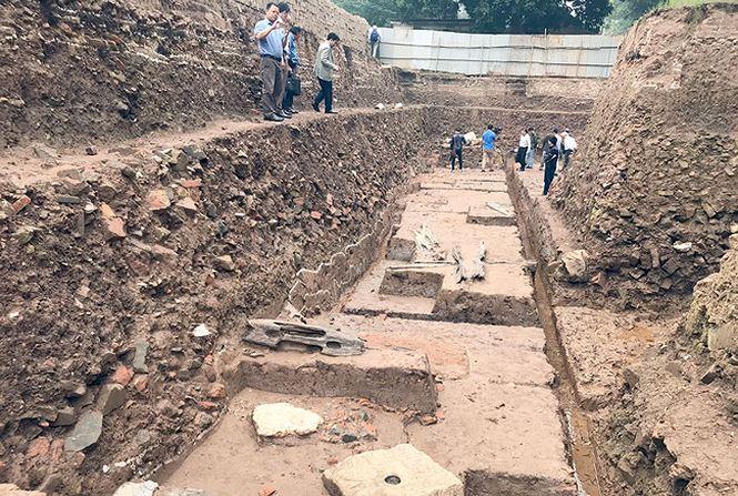 """""""Kho báu"""" hơn 700 tuổi dưới Hoàng Thành – Thăng Long - hình ảnh 4"""