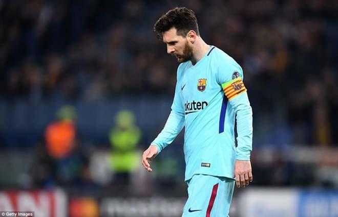 """Barcelona bị loại thảm khỏi cúp C1: Báo chí Argentina """"mở hội"""" vì Messi - 1"""