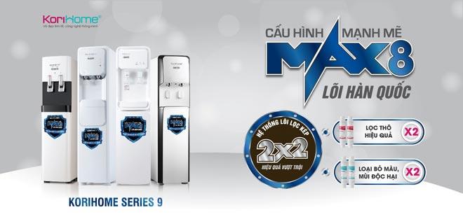Bộ 4 máy lọc nước tích hợp nóng lạnh Hàn Quốc thế hệ mới đổ bộ thị trường - 1