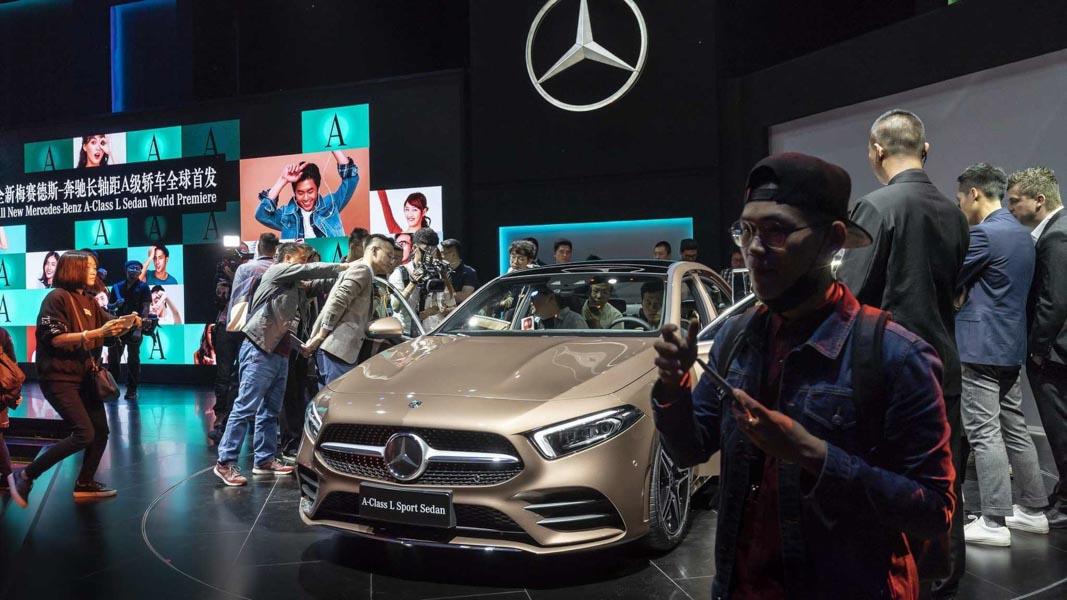 Mercedes-Benz A-Class Sedan 2019 phiên bản trục cơ sở dài ra mắt - 3