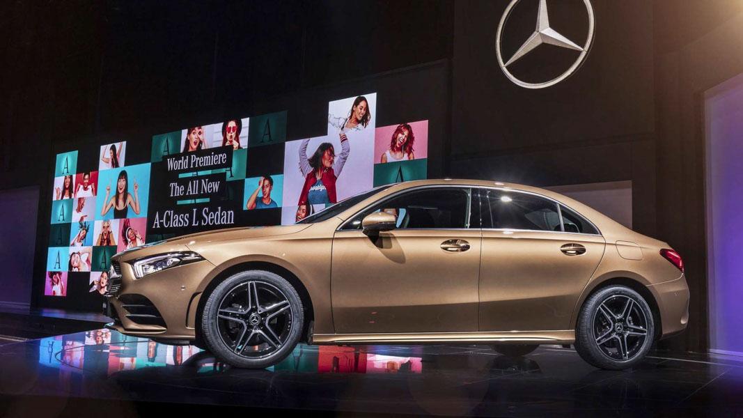 Mercedes-Benz A-Class Sedan 2019 phiên bản trục cơ sở dài ra mắt - 5