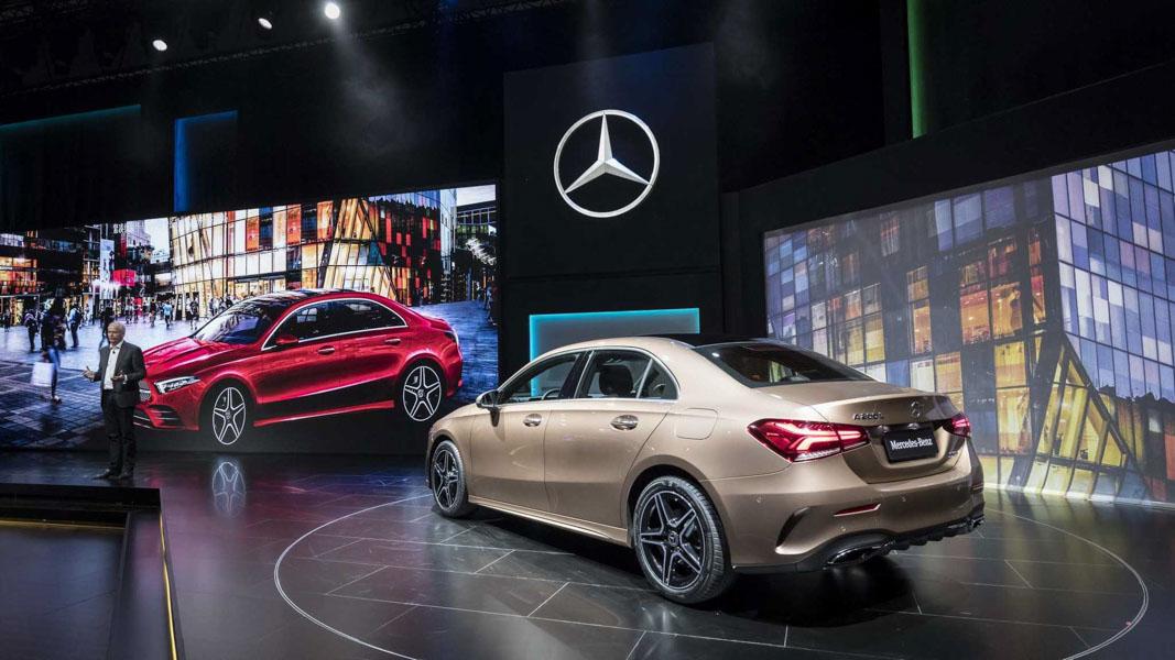 Mercedes-Benz A-Class Sedan 2019 phiên bản trục cơ sở dài ra mắt - 2