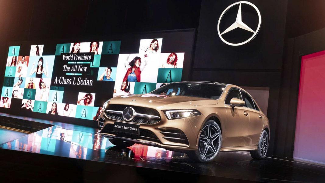 Mercedes-Benz A-Class Sedan 2019 phiên bản trục cơ sở dài ra mắt - 6