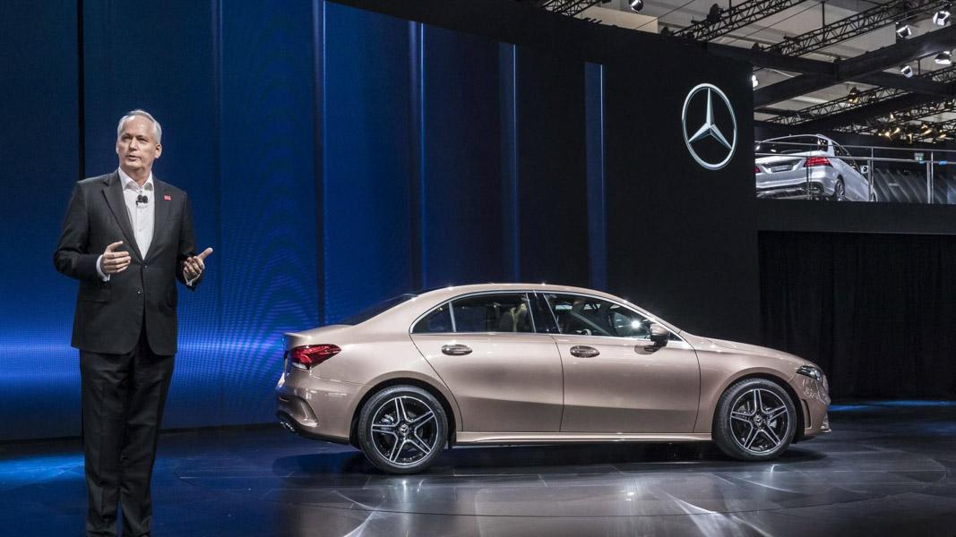 Mercedes-Benz A-Class Sedan 2019 phiên bản trục cơ sở dài ra mắt - 10