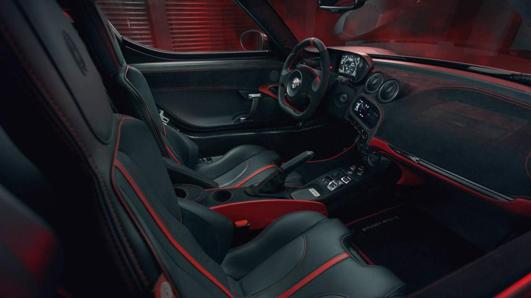Pogea Racing Alfa Romeo 4C: Gần 500 mã lực trong một chiếc xe nhỏ nhắn - 3