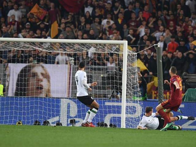 Rực lửa Olympico: Liverpool thua ngược, Roma hóa chiến binh