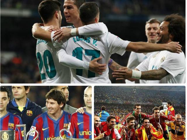 Real mơ 3 năm ẵm cúp C1: Có hơn Barca ăn 6 và Tây Ban Nha huyền thoại?