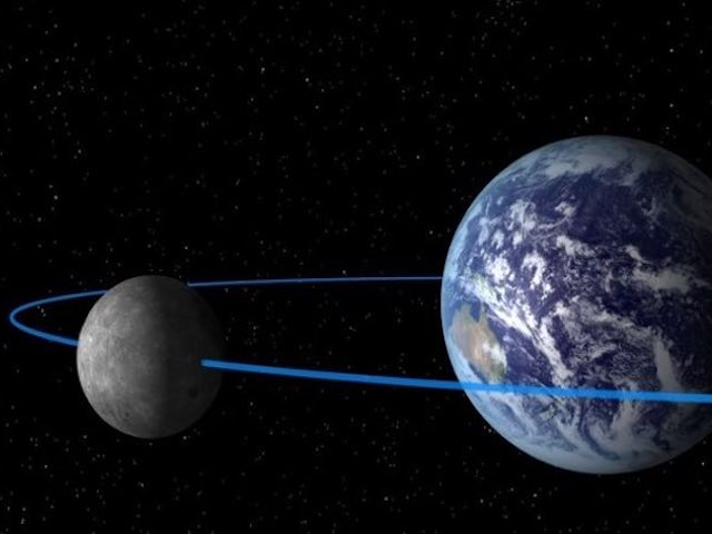Mặt trăng thứ hai của Trái đất nằm ở đâu?