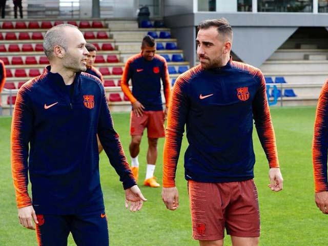 Tin HOT bóng đá tối 5/5: Iniesta sẽ đá Siêu kinh điển cuối