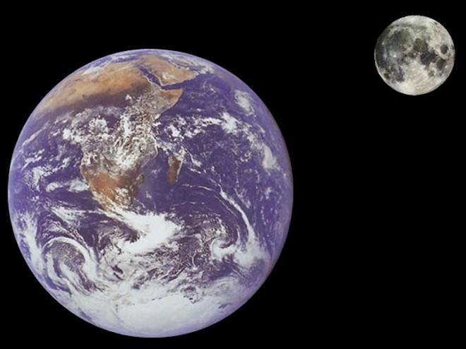 Giả thiết mới về sự hình thành của Mặt trăng - 1
