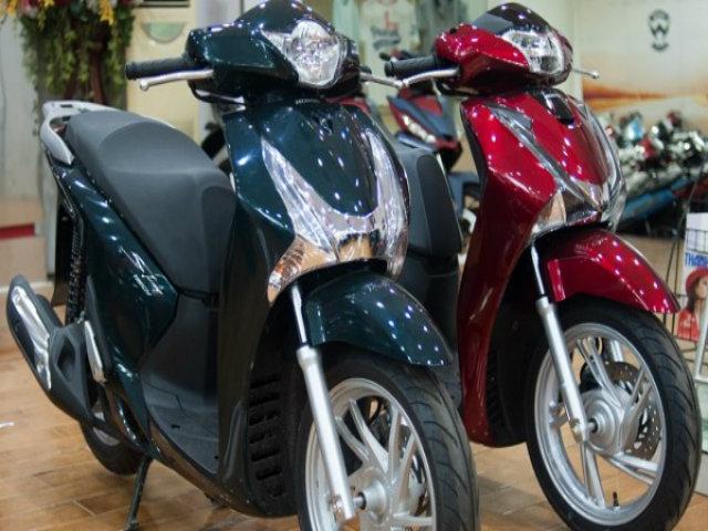 Bảng giá xe máy Honda tháng 5/2018: Ra tân binh, giá tăng nhẹ