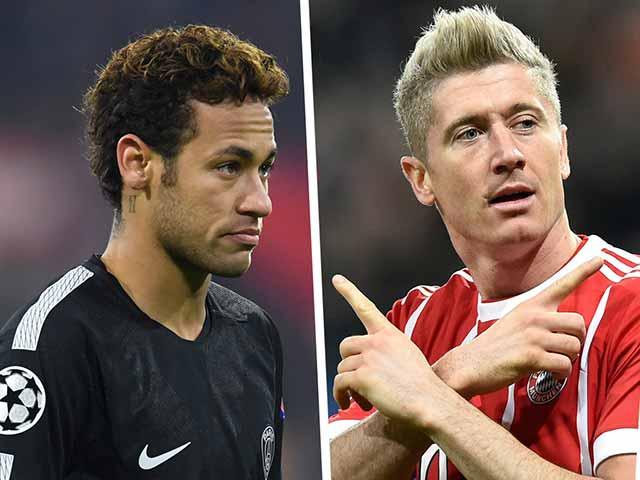"Neymar – Lewandowski bắt đầu ""ra đòn"": Quyết nhập hội Real - Ronaldo"