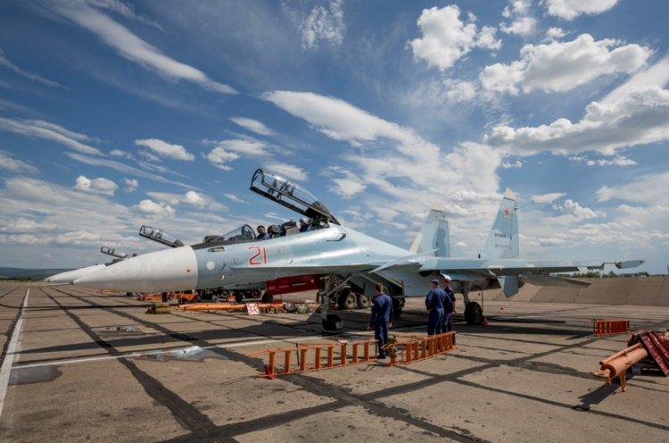 11 hình ảnh ấn tượng của chiến đấu cơ Su-30SM - 1