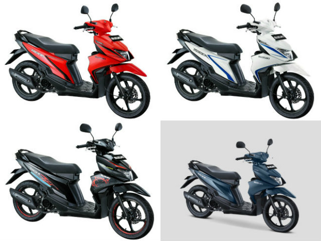 5 phiên bản, 13 màu của xe ga rẻ Suzuki Nex II - 1
