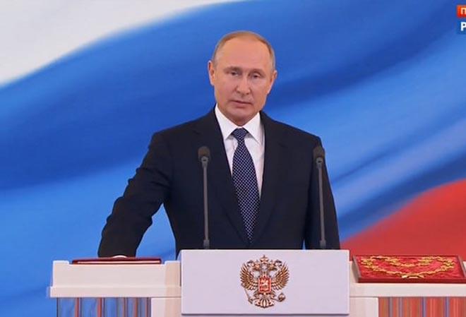 Putin chính thức nhậm chức Tổng thống Nga nhiệm kỳ 4 - 1