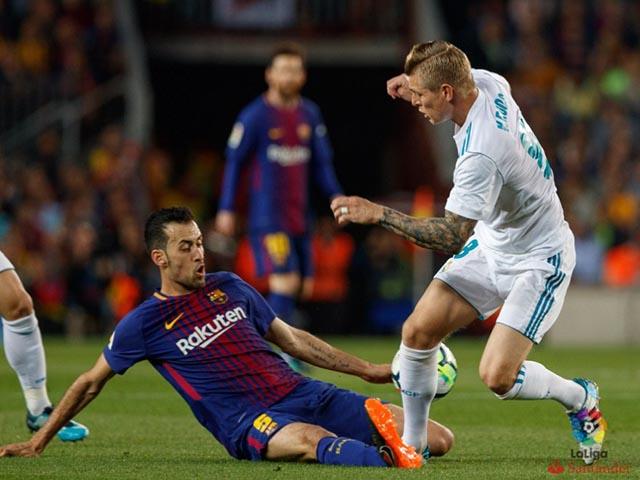 Barcelona - Real Madrid: Thẻ đỏ, siêu phẩm & bản lĩnh siêu sao