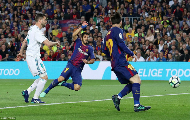 """Mãn nhãn Siêu kinh điển: Messi & Ronaldo """"đấu súng"""", Nou Camp rực cháy - 1"""