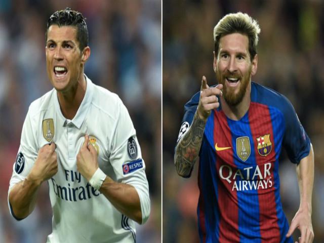 """Siêu kinh điển: """"Vua"""" Messi siêu kỷ lục, Ronaldo ngang tầm """"thánh"""" Di Stefano"""