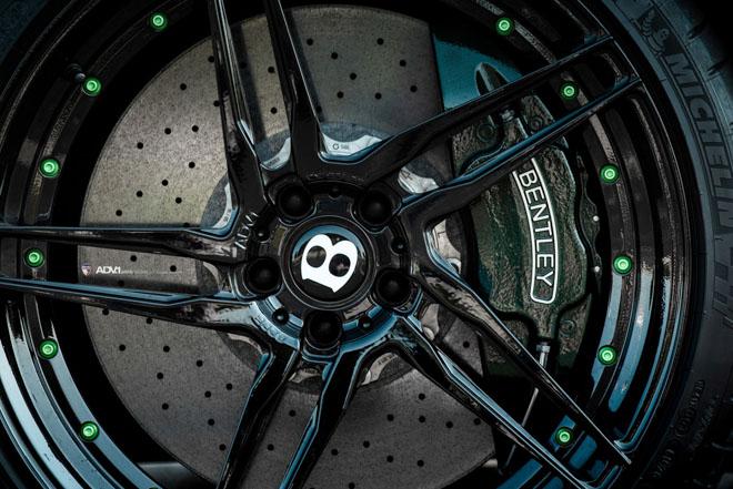 Siêu xe nhà Bentley được lên đời bộ mâm hàng hiệu 3000 USD - 4