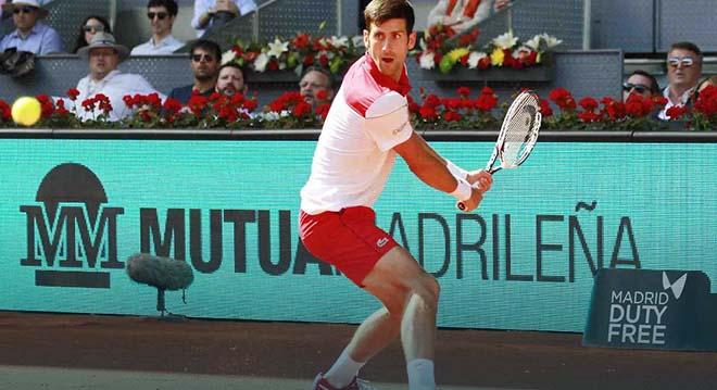 Djokovic - Nishikori: Bẻ game thần sầu, bản lĩnh tuyệt đỉnh (Vòng 1 Madrid Open) - 1