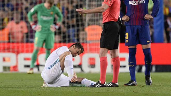 """Ronaldo chấn thương: Real sốt sắng tìm """"thần y"""", quyết đấu Liverpool - 1"""
