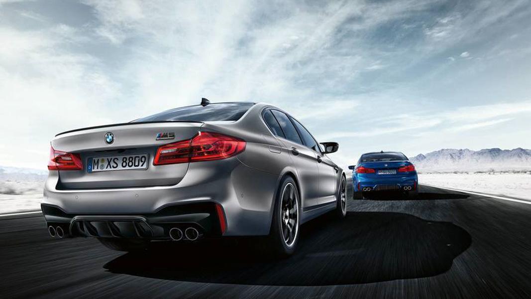 BMW ra mắt M5 phiên bản Competition 2018 - 2