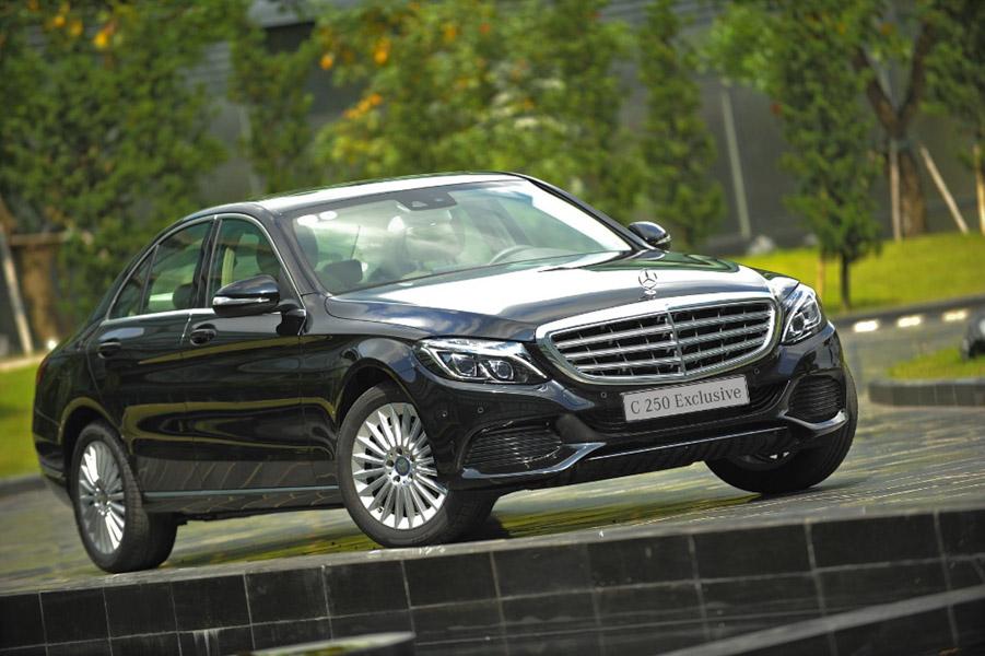 Mercedes-Benz Việt Nam trang bị thêm cho dòng C-Class, giữ nguyên giá - 4