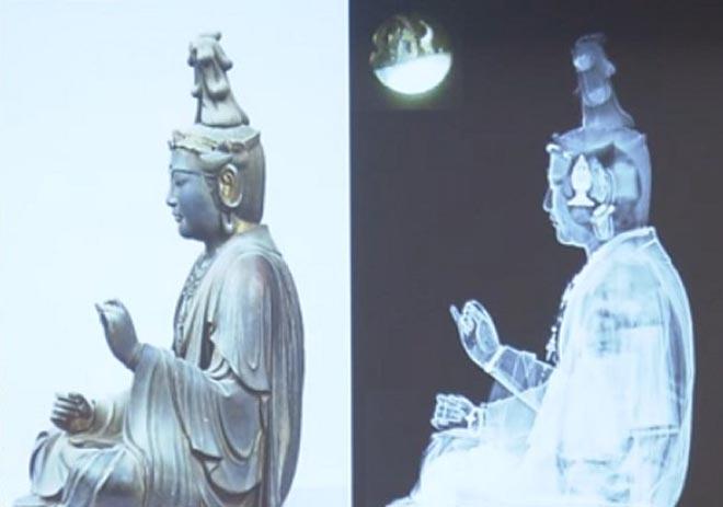Nhật Bản: Khám phá tượng Phật cổ 700 tuổi, phát hiện kho tàng vô giá - 1