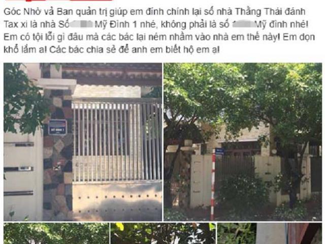 Vụ tài xế taxi Mai Linh bị choảng vỡ đầu: Thêm khổ chủ kêu oan vì bị ném mắm tôm