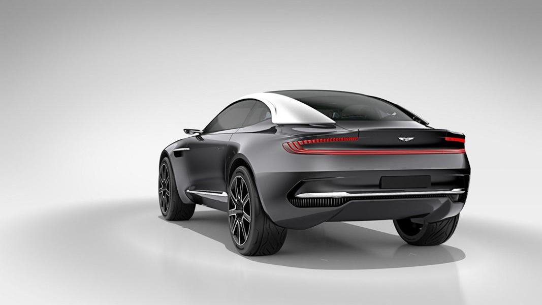Aston Martin DBX sẽ là ''phát súng'' mở đầu cho phân khúc xe gầm cao của hãng - 2