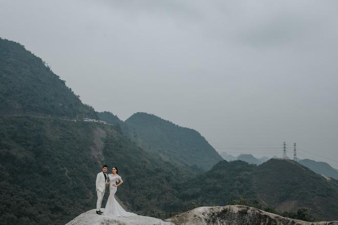 Ảnh cưới ngọt ngào lãng mạn của Lâm Vũ và bà xã xinh đẹp - hình ảnh 10