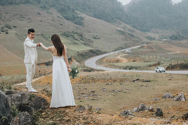 Ảnh cưới ngọt ngào lãng mạn của Lâm Vũ và bà xã xinh đẹp - hình ảnh 5