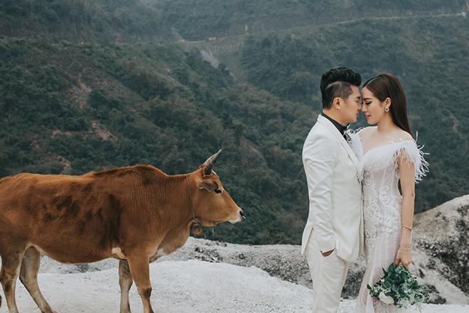 Ảnh cưới ngọt ngào lãng mạn của Lâm Vũ và bà xã xinh đẹp - hình ảnh 8