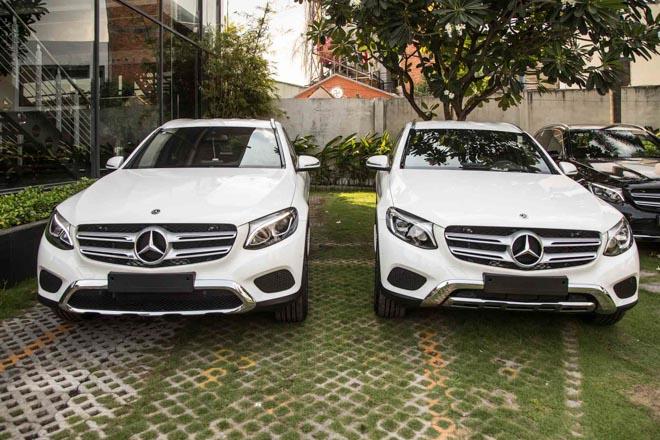 So sánh Mercedes-Benz GLC250 4Matic và GLC200 vừa ra mắt - 1