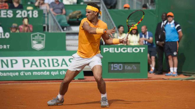 """Nadal - Dzumhur: """"Ác mộng"""" 2 set kinh hoàng (Vòng 2 Rome Masters) - 1"""