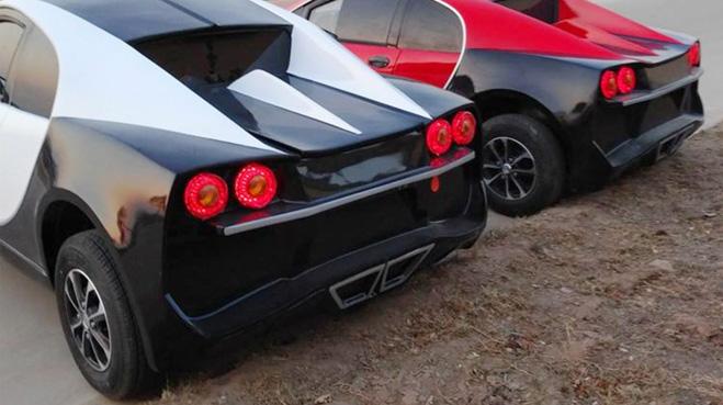 "Bugatti Chiron, Lamborghini, Audi ""nhái"" giá rẻ chỉ 100 triệu đồng. - 3"